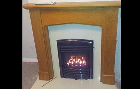 new gas fire portsmouth - illustration